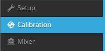 iNav 3.0 calibration tab
